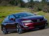Honda Clarity in three opacities