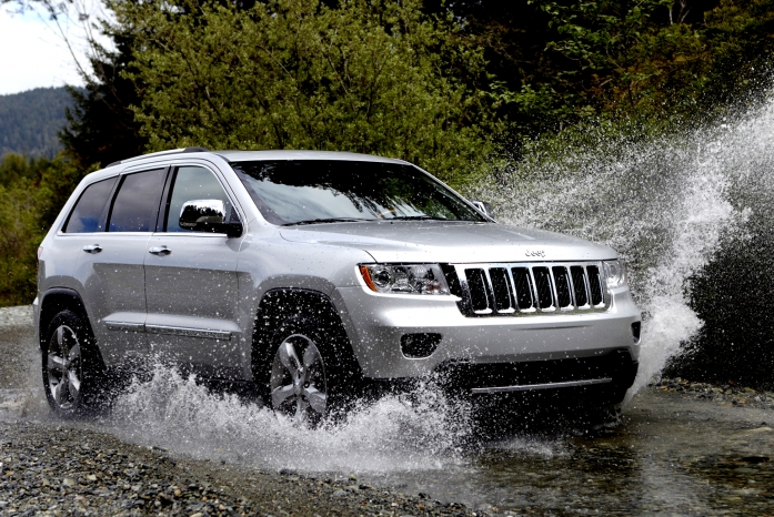 Jeep Grand Cherokee and the international